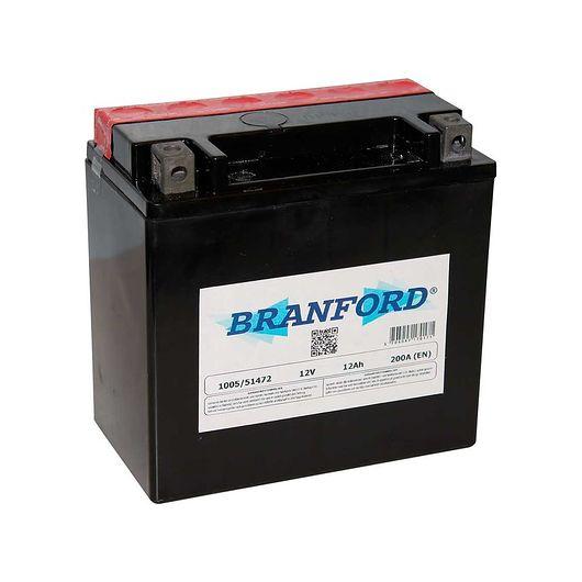 BRANFORD - MC-batteri 12 Ah 12 V