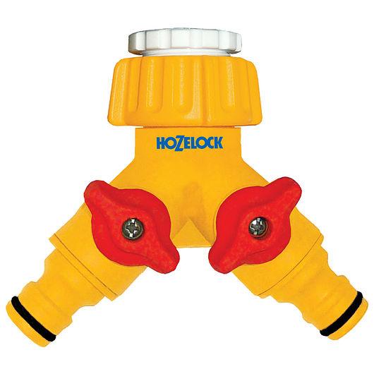 Hozelock - Dobbelthanekobling