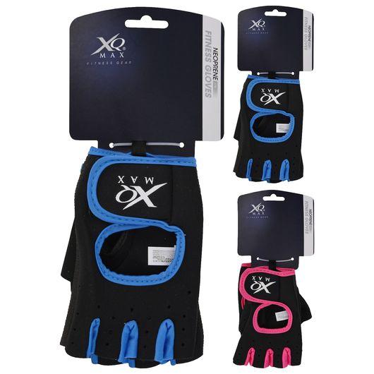 XQMAX træningshandsker - ass. størrelser og farver