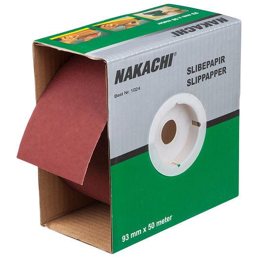 Nakachi slibepapir 93 mm x 50 m K150