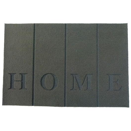 Smudsmåtte - 40 x 60 cm - Home grå