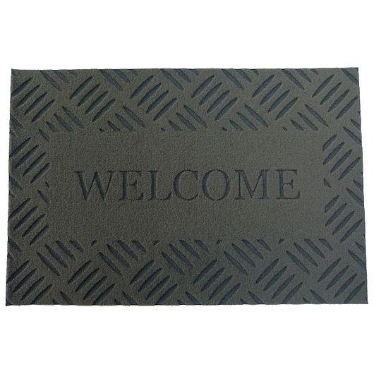Måtte - 40 x 60 cm - Welcome  grå