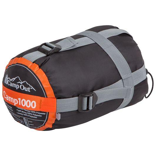 CampOut - Børnesovepose Camp1000 orange