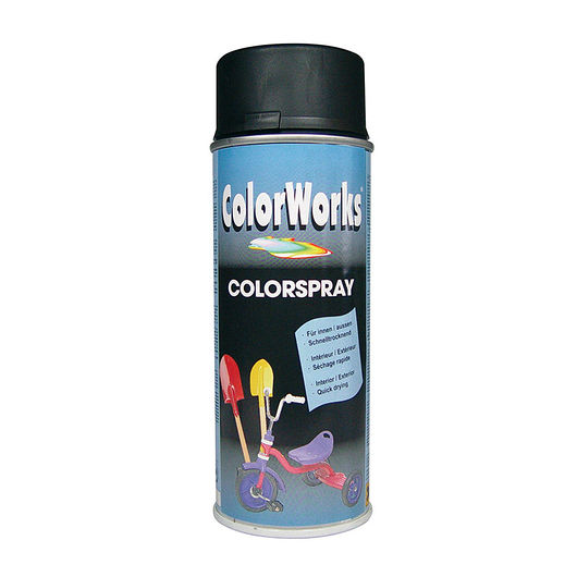 Motip - Spraymaling sort mat