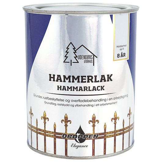 Hammerlak grå 0,75 L