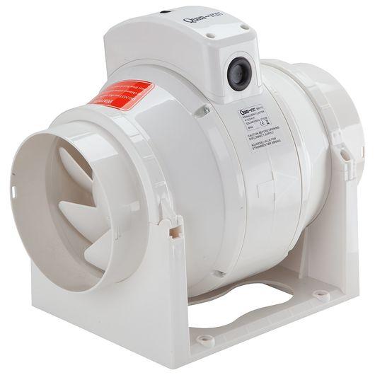 Kanalventilator 2 trin Ø. 125 mm