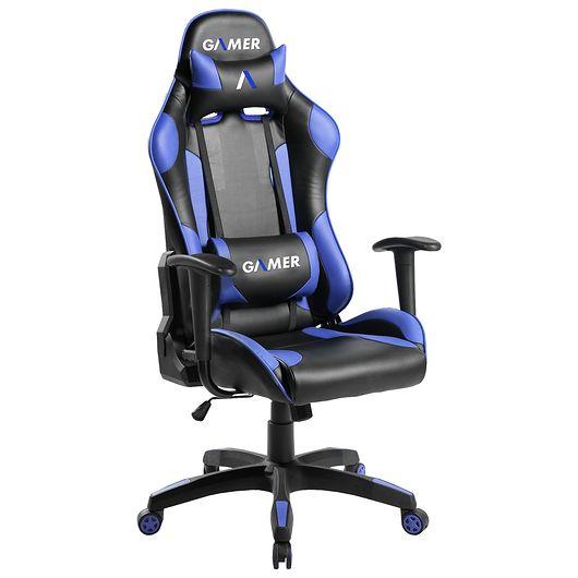 Gamerstol - blå