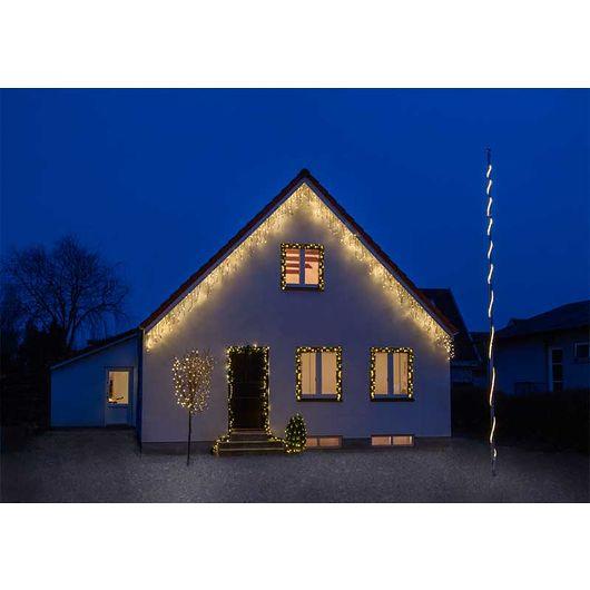 Nowel - PRO istappelys 200 LED - varm hvid