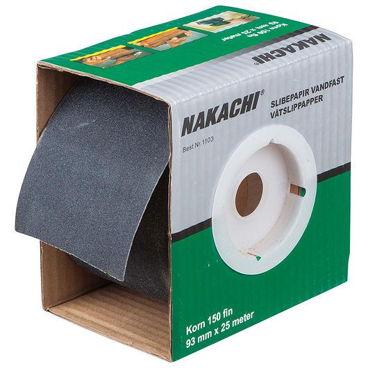 Nakachi slibepapir vandfast K150
