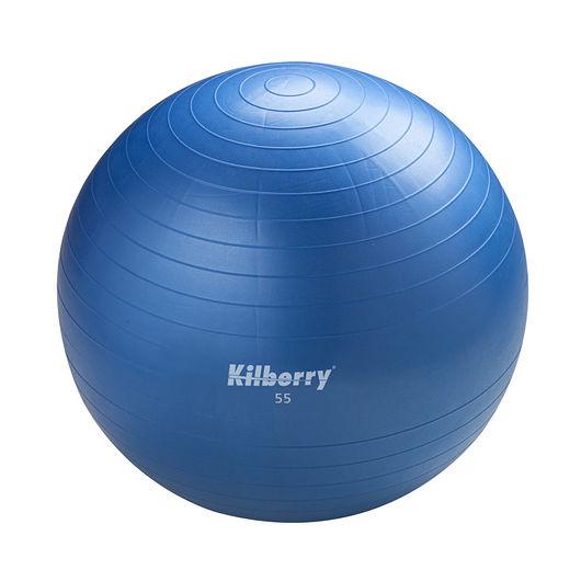 Pilates-/gymnastikbold Ø. 55 cm - blå