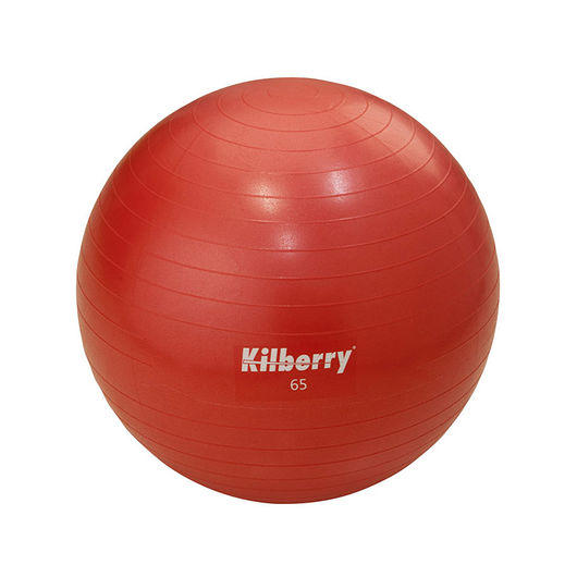 Pilates-/gymnastikbold Ø. 65 cm - rød