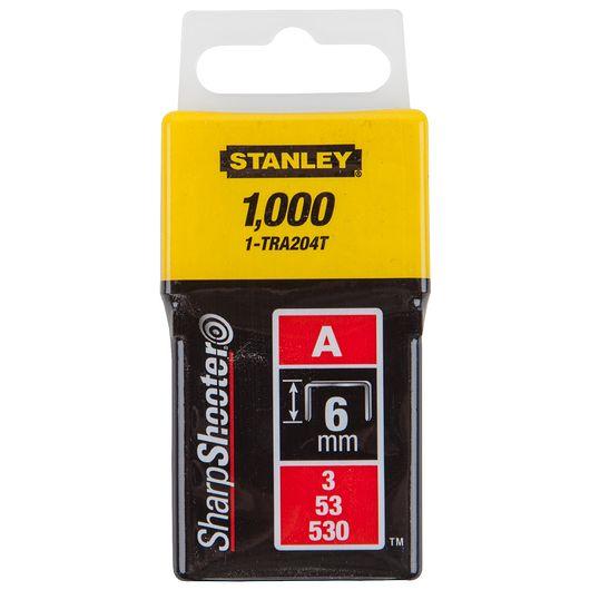 Stanley hæfteklammer 6 mm