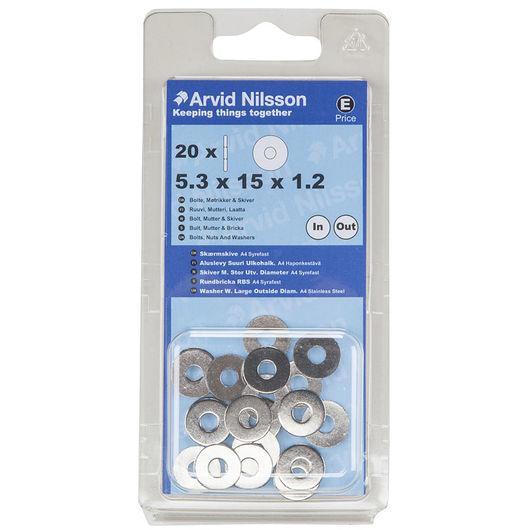 Arvid Nilsson - Skærmskive A4 til M5 20-pak