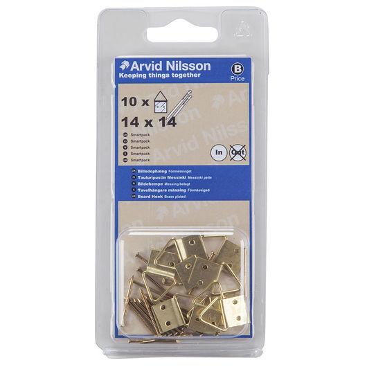 Arvid Nilsson - Billedophæng 14 x 14 mm 10-pak