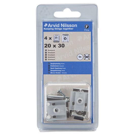 Arvid Nilsson spejlophæng 20 x 30 mm 4-pak