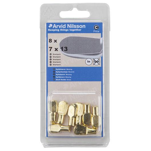 Arvid Nilsson - Hyldebærer i messing 7 x 13 mm 8pk