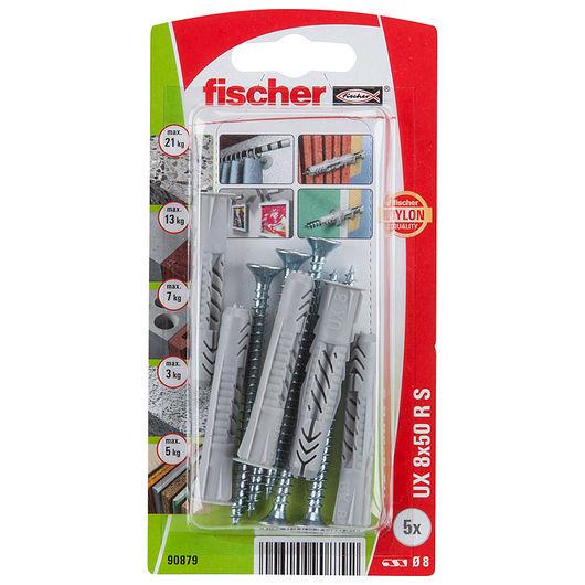 Fischer dyvel uni UX 8 x 50 mm RSK 5-pak