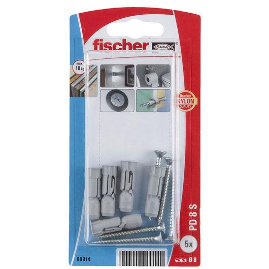 Fischer - Gipspladedyvel PD8 SK 5-pak
