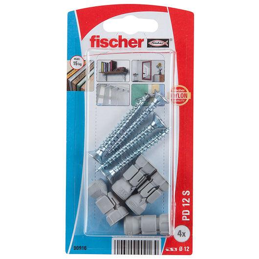 Fischer gipspladedyvel PD12 SK 4-pak