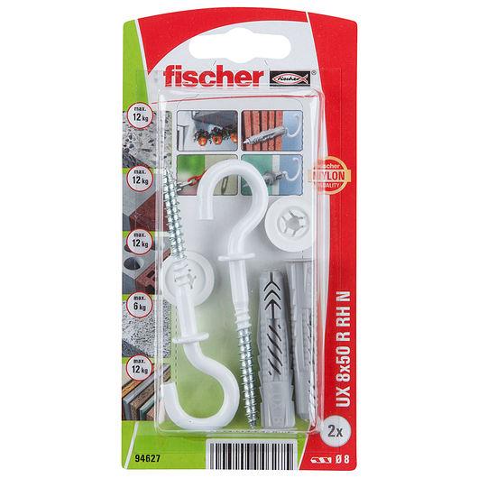 Fischer - Krogdyvel uni UX 8 x 50 mm 2-pak