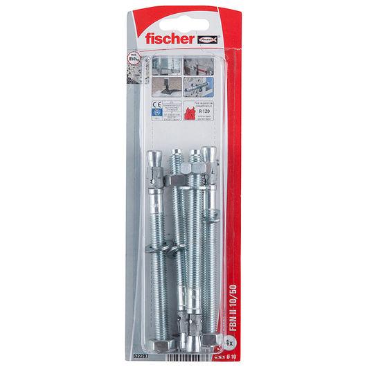 Fischer betonanker 10/50 4-pak