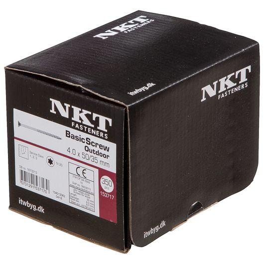 NKT håndværkerskrue 4,0 x 50 mm 350 stk.
