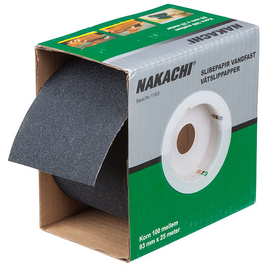 Nakachi slibepapir vandfast K100