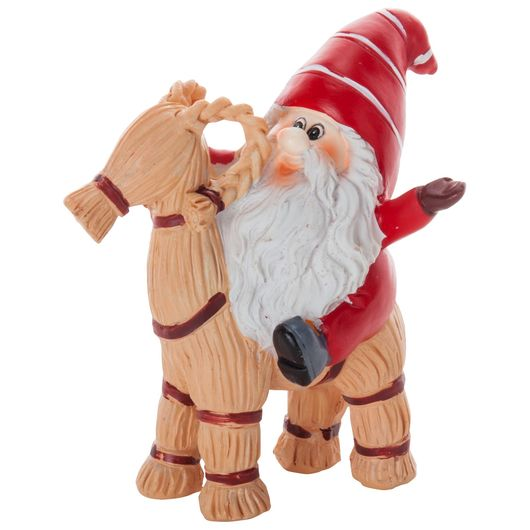 Santa petit - Nisse på julebuk