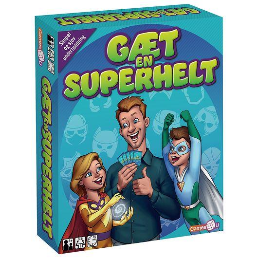 Spil - Gæt en superhelt