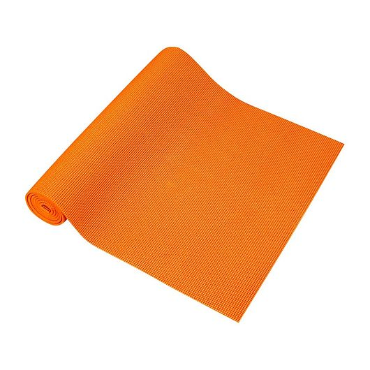 Yogamåtte orange - 8 mm