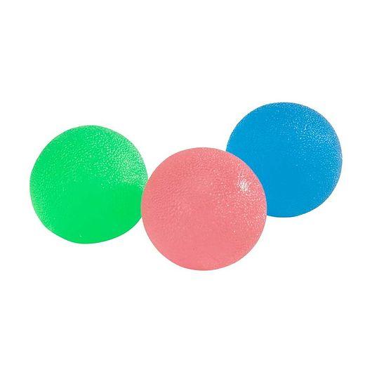 Håndtræningsbold - sæt med 3 stk
