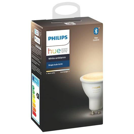Philips HUE pære GU10 5W dæmpbar