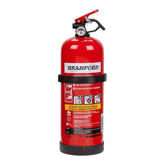 BRANFORD - Ildslukker 2 kg