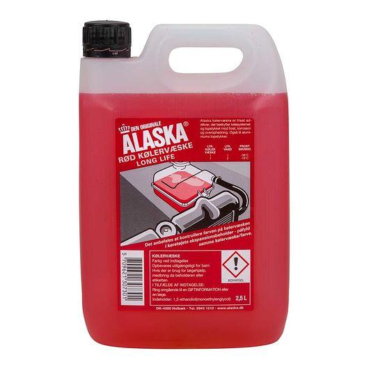 Alaska - Rød kølervæske 2,5 liter