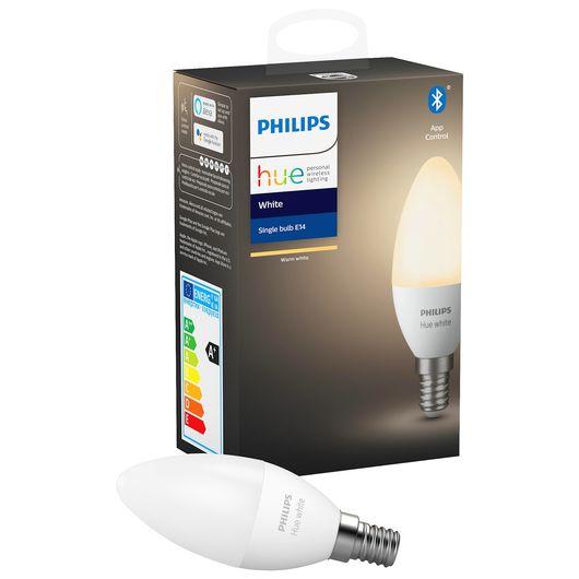 Philips HUE pære E14 B39 5,5W
