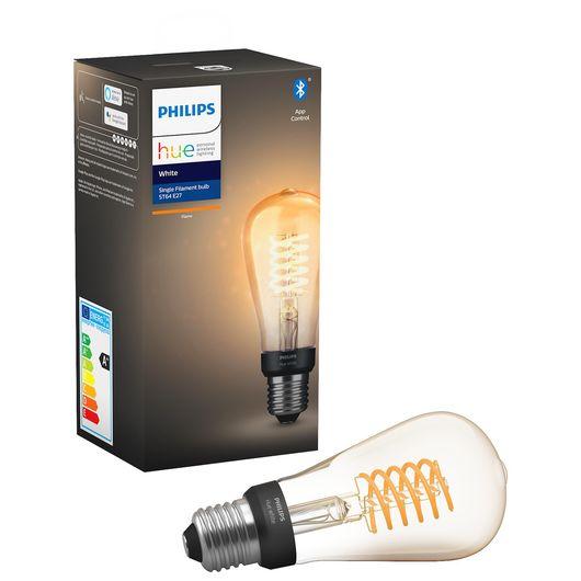 Philips HUE - LED-filamentpære E27 ST64 7W dæmpbar
