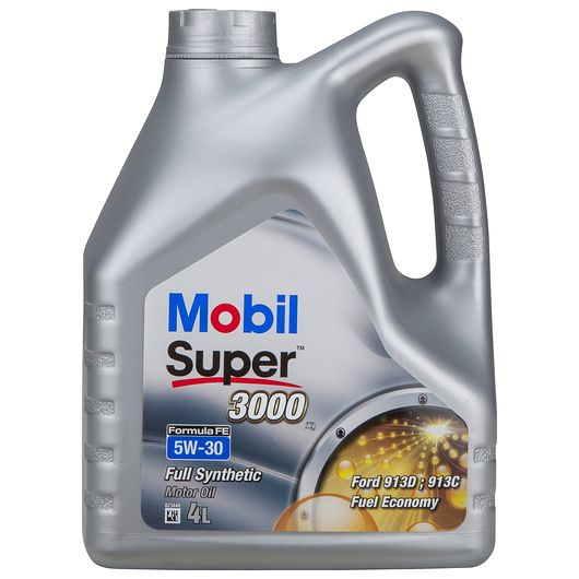 Mobil SUPER3000 motorolie fuldsyntetisk - 4 liter