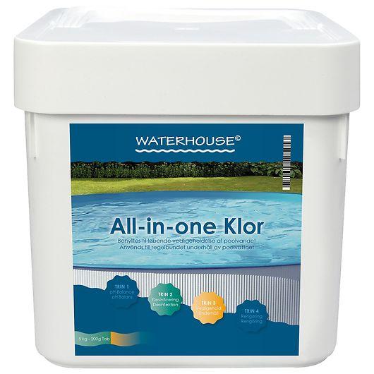 Waterhouse - All-in-one Klor - 5 kg