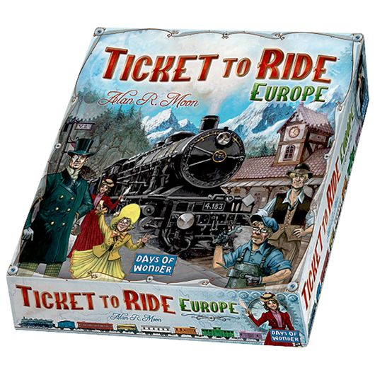 Spil - Ticket to Ride Europe