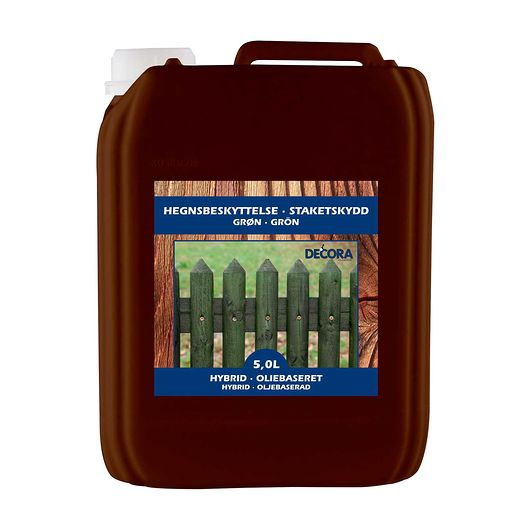 Decora hegnsmaling grøn - 5 liter