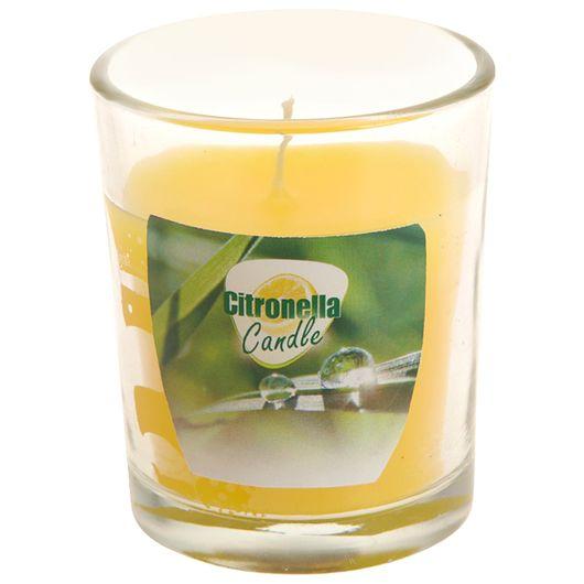 Myggelys i glas med citronella