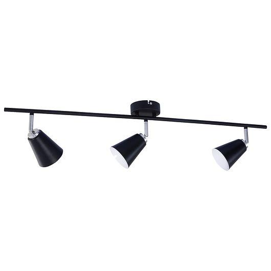 Lux Lamp - Spotskinne Bari 3 x E14 - sort