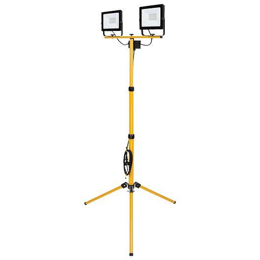 Sartano - Arbejdslampe på stativ 2 x 50 W LED