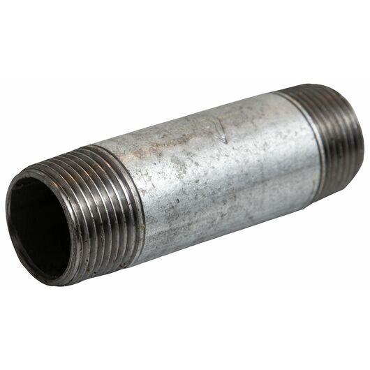 Nippelrør 1/2'' x 60 mm - galvaniseret