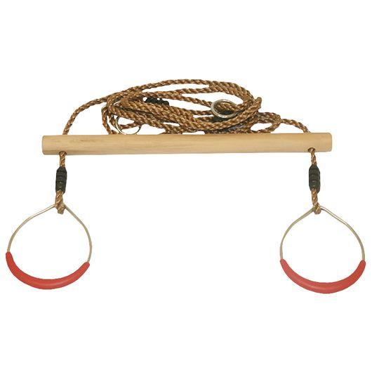 Trapezgynge med ringe