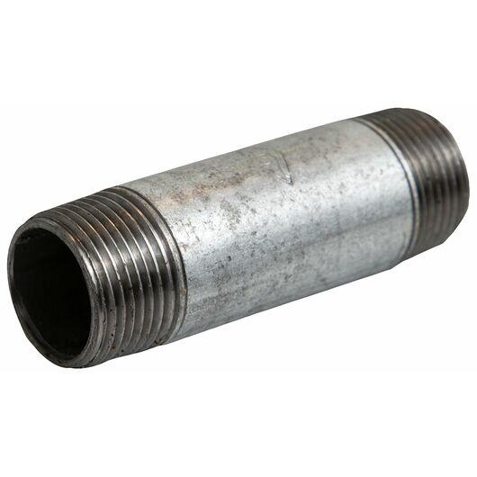 Nippelrør 1/2'' x 120 mm - galvaniseret