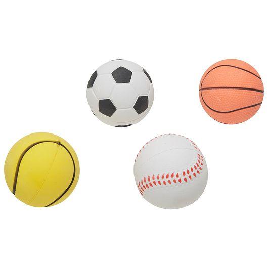 Hoppebold sportstema Ø. 6,3 cm - assorterede