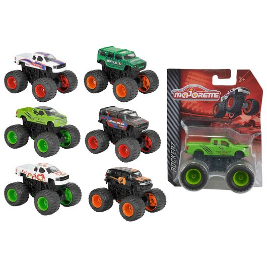 Monstertruck 7,5 cm 1:64 - assorterede modeller