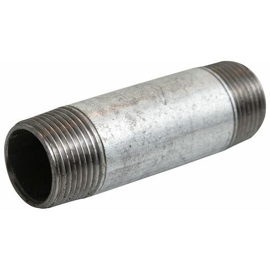 Nippelrør 1/2'' x 150 mm - galvaniseret