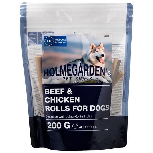 Kødrulle med okse og kylling - 200 g